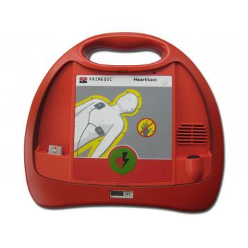 DEFIBRILLATORE HEART-SAVE PAD con batteria al litio - italiano