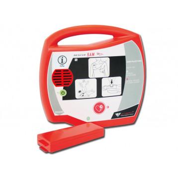 DEFIBRILLATORE AED RESCUE SAM - spagnolo