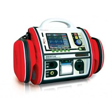 DEFIBRILLATORE RESCUE LIFE AED - con pacemaker - italiano