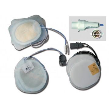 PLACCHE COMPATIBILI - per defibrillatori AGILENT/HP/LAERDAL