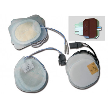 PLACCHE COMPATIBILI - per defibrillatori DRAGER/INNOMED/S&W/WELCH ALLYN