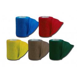 BENDA ELASTICA COESIVA TNT - 4.5 m x 7.5 cm - mix 5 colori