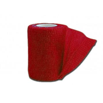 BENDA ELASTICA COESIVA TNT - 4.5 m x 7.5 cm - rossa