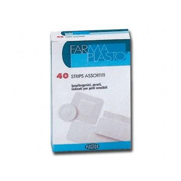 SENSITIVE ADHESIVE PLASTERS - 4 mixed sizes - 80 box of 40 pcs.