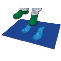 TAPPETO DECONTAMINANTE - 60 x 90 cm - blu