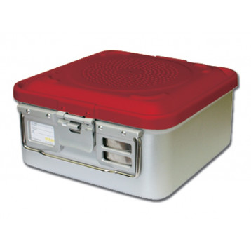 CONTAINER STANDARD 465 x 280 x h 100 mm - 1 filtro - n.p. - rosso