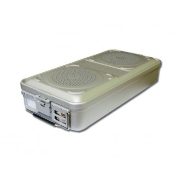 CONTAINER STANDARD 580 x 280 x h 260 mm - 2 filtri - n.p. - grigio