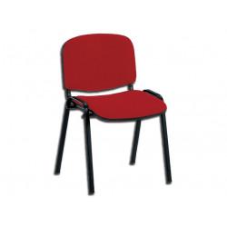 SEDIA ISO - tessuto rosso (TN 050)
