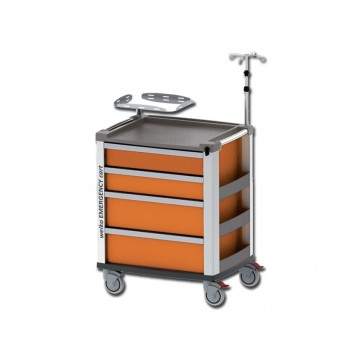 MEDI KART EMERGENZA - arancione