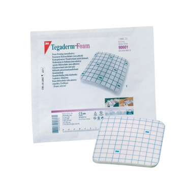 Tegaderm Foam Non Adhesive Medicazione In Schiuma Di Poliuretano Non Adesiva