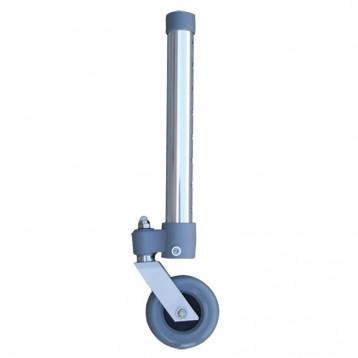 Gambe Per Deambulatore Ad-40 E Ad-46, Con Ruote Piroettanti