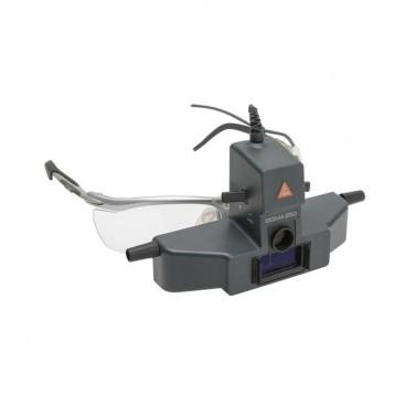 Oftalmoscopio Indiretto Heine Sigma 250 Montato Su S-Frame, Con Mpack Ll E Trasformatore A Rete