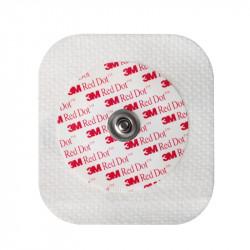 Red Dot Elettrodo Diaforetico Con Supporto In Medipore E Tampone Abrasivo