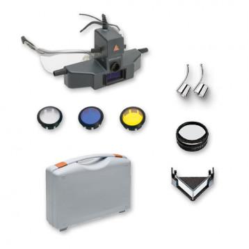 Set Oftalmoscopio Heine Sigma 250 M2 Montato Su S-Frame Completo Di Accessori, In Valigetta