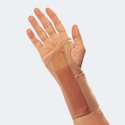 Ortesi elastico per polso con rinforzo