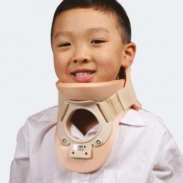 Philadelphia collare cervicale bivalve con foro tracheale (pediatrico)