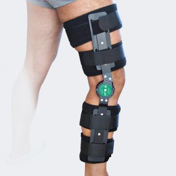 Ginocchiera post operatoria per l'intera gamba