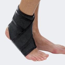 TAB 111 Cavigliera in tessuto elassticizzato con bendaggio funzionale
