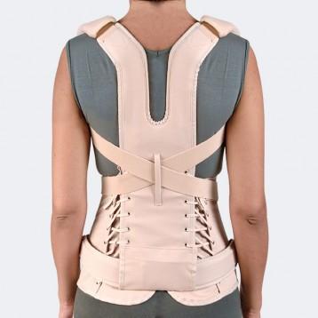 Modello Taylor Duo corsetto rigido dorsolombare con spallacci