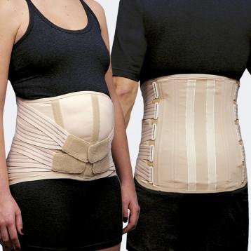 Camp one mod. 534 f/m corsetto lombosacrale per addome pendulo modello donna e uomo
