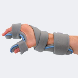 Modello 934 tutore palmare per polso, mano, dita e pollice, modificabile