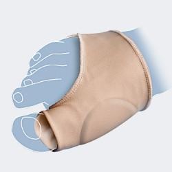 Modello P 407 protettore diurno in silicone per alluce valgo (fornito singolo)