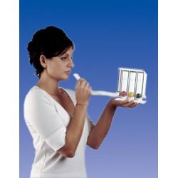 Dispositivo ginnastica respiratoria respitrain