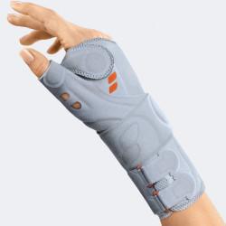 Mod. 7645 manu -hit pollex supporto per pollice e polso in tessuto 3D con rinforzo palmare/dorsale e fascia di chiusura