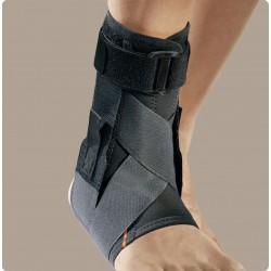 Malleofit81 cavigliera in tessuto AirX con tiranti elastici ad 8 e stecche a spirale