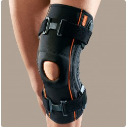 Genufit 08 ginocchiera tubolare in tessuto AirX con stecche a spirale e stabilizzatore rotuleo
