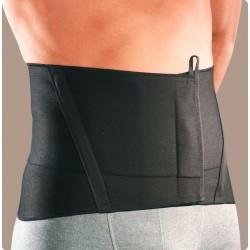 Criss-cross corsetto elastico basso nero