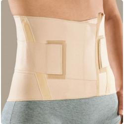 Criss-cross corsetto elastico basso con tiranti