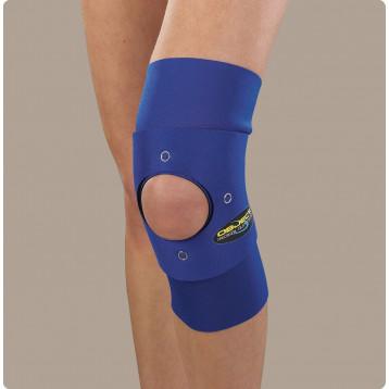 Object ginocchiera tubolare per stabilizzazione rotulea in neoprene