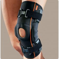 Genufit15 ginocchiera tubolare in tessuto AirX con aste articolate e stabilizzatore rotuleo