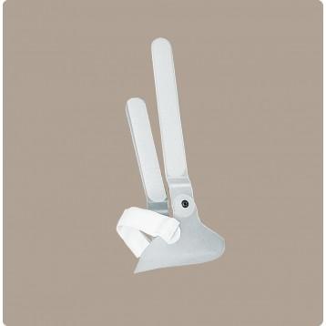 Castop componente a scarpetta per ortesi funzionale di tibia