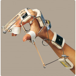 Splint ferula dr. bunnel per polso e mano (estensione polso - flessione metacarpi - estensione dita - abduzione pollice)