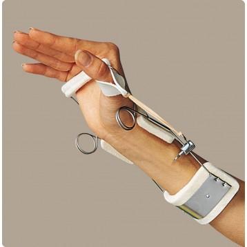 """Splint ferula """"oppenheimer"""" del dr. bunnel - estensione polso, abduzione pollice"""