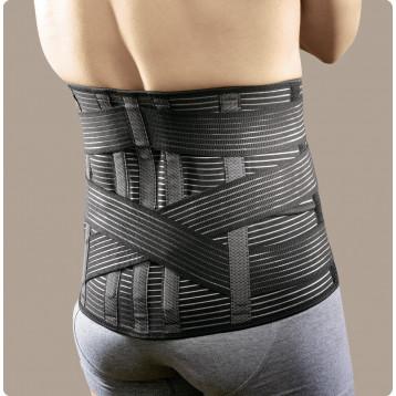 Linearplus72 corsetto elastico millerighe alto con tiranti ad incrocio posteriore PR1-1872S