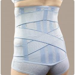 Linearplus72 corsetto elastico millerighe alto con tiranti ad incrocio posteriore PR1-1872H