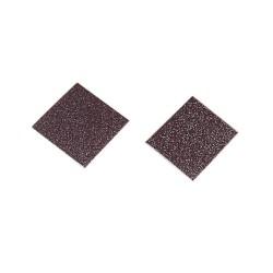 Spugna abrasiva per elettrodi riutilizzabili