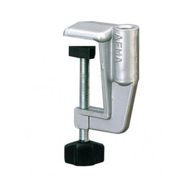 Morsetto da tavolo per lampade, in alluminio