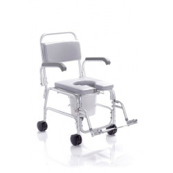 Sedia per doccia su ruote