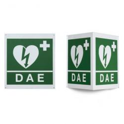 Cartello Da Muro Per Defibrillatore