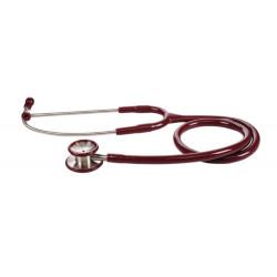 Stetofonendoscopio Pediatrico In Acciaio Inox - Rosso