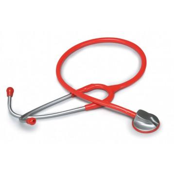 Fonendoscopio Adulti Con Testa Anatomica - Rosso