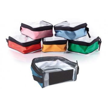Kit 5 Moduli Colorati Con Velcro Trasparenti Per Zaini E Borse Di Emergenza