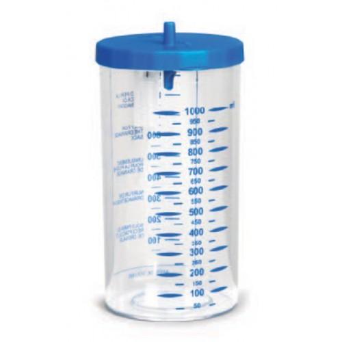 Vaso Da 1000Cc Autoiclavabile Completo Per Aspimed 1.2, 1.3, 1.5
