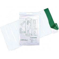 Sacchetto salvagesso per doccia monouso con adesivo