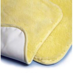 Vello in lana merinos con fodera impermeabile