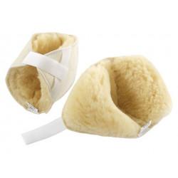 Talloniera - gomitiera in lana merinos ( coppia )
